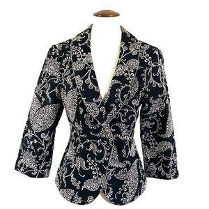 CAbi Eliza Brocade Tapestry jacket